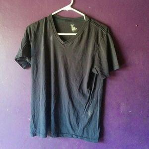 Navy Blue Gap V-Neck Small Shirt